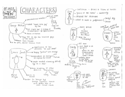 of mice and men character summary by smudge78 teaching resources tes