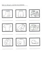 La ropa (Describing Clothes in Spanish) by mmullen