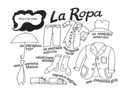 La ropa (Describing Clothes in Spanish)