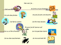 daily routine past tense resources