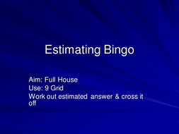 Estimating Bingo.ppt