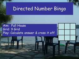 DirectedMultiplying Bingo.ppt