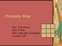 Probability Bingo.ppt
