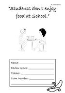 Students don't enjoy food at school