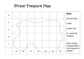 pirate treasure map by etaalpha teaching resources tes