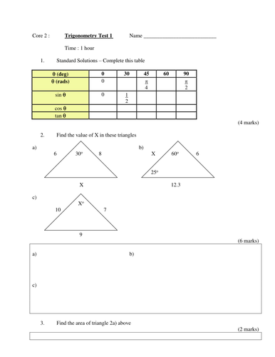 Second Grade English Worksheets Excel Core   Trigonometry Powerpoint Lesson By Aliali  Teaching  Label Plant Parts Worksheet Excel with Interrogative Pronouns Worksheet Pdf Core   Trigonometry Powerpoint Lesson By Aliali  Teaching Resources   Tes Ratios Word Problems Worksheets Excel