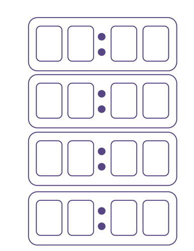 A sheet of 4 blank digital clocks by Miss_N - Teaching Resources - Tes