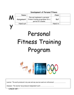 personal fitness training program template by acropley teaching