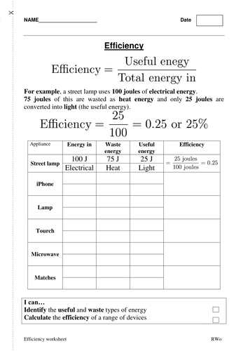 energy calculations worksheet worksheets releaseboard free printable worksheets and activities. Black Bedroom Furniture Sets. Home Design Ideas