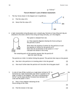 Test on Newtons Laws