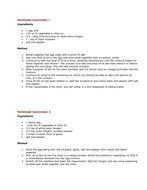 Emulsifiers: Making Mayonnaise
