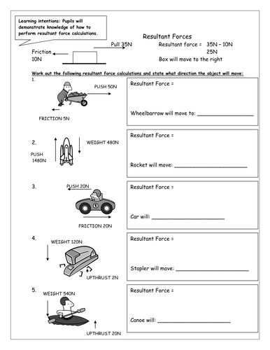 forces worksheet for middle school forces best free printable worksheets. Black Bedroom Furniture Sets. Home Design Ideas