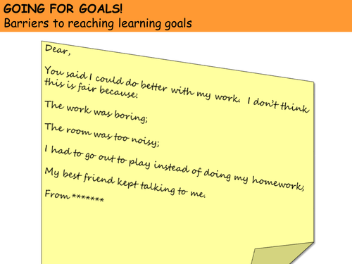 Top Resolutions: Going for Goals