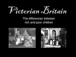 the difference between rich and poor victorians