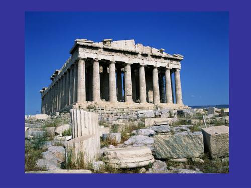 ancient greece buildings and structures by hemanche5 teaching