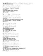 The Rainforest Song(1).doc