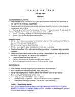 Learning_logs_ideas_for_Term_6_habitiats[1].doc