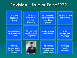 JFK True or False