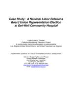 Union Election Simulation