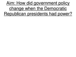 Jefferson Administration powerpoint