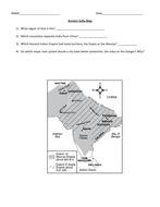 Indian Subcontinent Map by groovingup | Teaching Resources