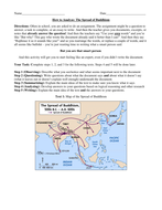 Spread of Buddhism and How to Analyze Texts