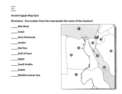 Ancient egypt map quiz and answers by evanderheyden10 teaching ancient egypt map quizpdf gumiabroncs Image collections