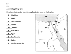 Ancient egypt map quiz and answers by evanderheyden10 teaching ancient egypt map quiz answer keypdf gumiabroncs Image collections
