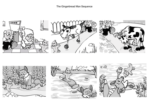 The Gingerbread man by natbatrawls Teaching Resources Tes – Gingerbread Man Worksheets