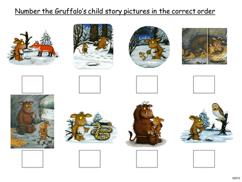 The Gruffalo and The Gruffalo's Child by linny66 - Teaching ...