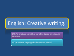 HUMOUR HEADLINES AND PUNS Newspapers  by ACOYEAR8 | Teaching Resources