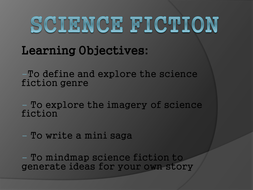 Intro  to the Science Fiction Genre