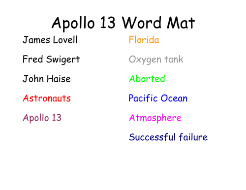Moon Landing Newspaper Writing by alibobby Teaching Resources Tes – Apollo 13 Worksheet Answers