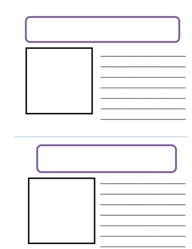 Advert Template By Rafiab Teaching Resources Tes