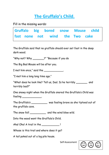 The Gruffalos Child Story Sack By Kayld Teaching Resources Tes