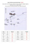 Santas Christmas Journey Around Europe Answers.doc