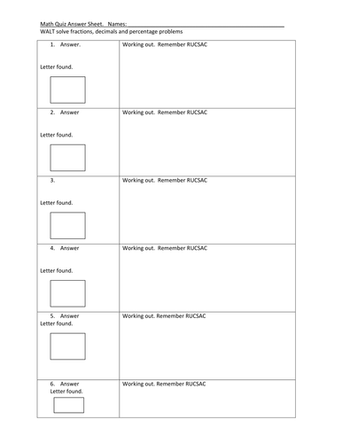 Number Trace Worksheets Fractions Decimals And Percentages Hunt By Kbecker  Teaching  Home Budget Worksheet Pdf Excel with Ed Ing Worksheets Fractions Decimals And Percentages Hunt By Kbecker  Teaching Resources   Tes Estimate Worksheets Pdf