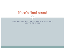 Nero's Final Stand