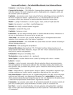 Sources And Vocabulary Industrial Revolution Teaching Resources