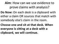 matching claims with evidence.pptx
