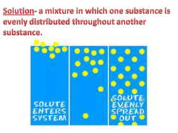 Solubility Lesson with Questions