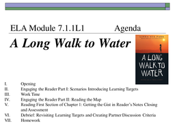 ELA 7 Module 1 Unit 1 (A Long Walk to Water)