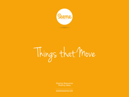 Things that Move Powerpoint