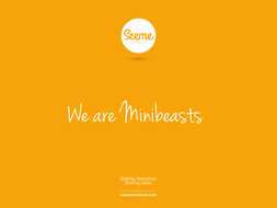 We are Minibeasts Powerpoint