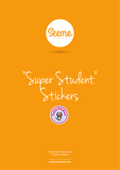 Super Student Stickers