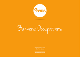 Occupations Classroom Banner