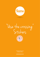 Use the Crossing Stickers
