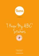 I Know My ABC Stickers