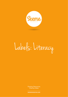 Literacy Name Labels