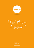 I Can Writing Statements Assessment